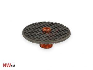 Soczewka gazowa 17/18/26 QUARTZ - elektroda 2.4mm
